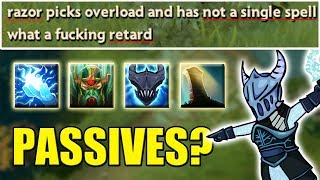 Press ONE BUTTON - Win Dota [Passives Toggle Abuse] Ability Draft