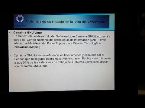 Decreto 3390 Software libre en Venezuela