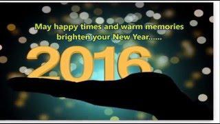 Happy New Year 2016  Beautiful WishesNew Year gree
