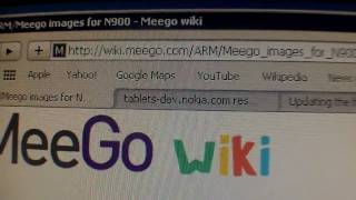 Nokia N900 Video 4_Flashing with Meego OS