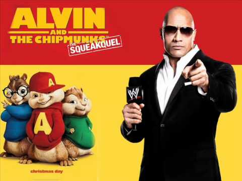 WWE The Rock old Theme Song *CHIPMUNKED* - Know Your Role