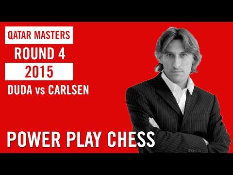 Qatar Master 2015 Round 4 Duda vs Carlsen
