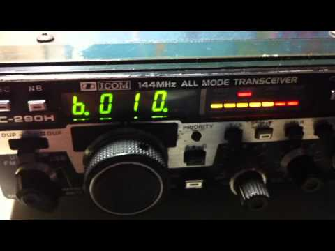icom ic 290h all mode radio