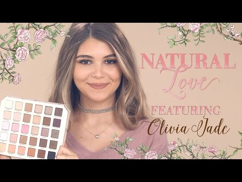 Natural Love Palette Tutorial feat. Olivia Jade - Too Faced Cosmetics