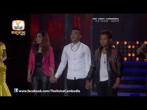 The Voice Cambodia - Live Show 1 - Srolanh Oun Klaing Klaing - Sun Liheang