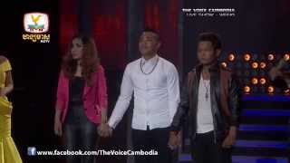 The Voice Cambodia - Live Show 1 - ស្រលាញ់អូនខ្លាំងៗ - ស៊ុន លីហៀង