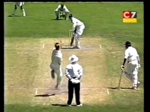 *rare* Brett Lee Destroys India - 1999 Tour Match. Champion Fast Bowling. video
