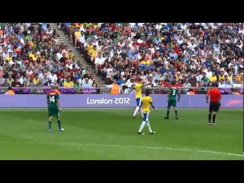 London 2012 Olympic Football Men's Final: Brazil 1-2 Mexico