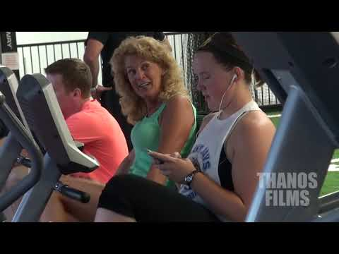 Moaning In The Gym Prank video