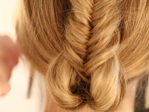 Tuto coiffure : le chignon tressé par Cutbyfred