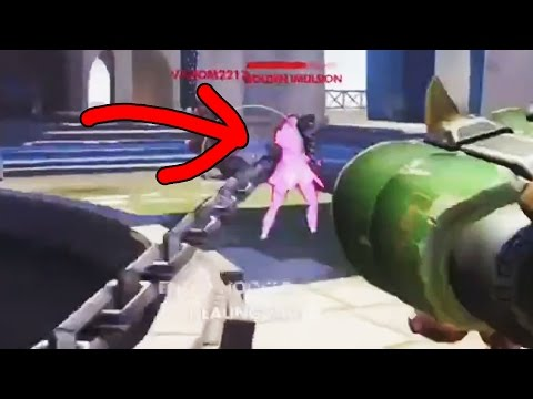 Overwatch Funny Moments 29 - Hooked From STEALTH?