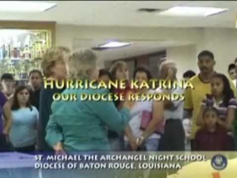 HURRICANE KATRINA 2005 PSA: St Michael the Archangel High School, Baton Rouge, LA
