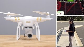 DJI Phantom 3 Professional Unboxing & Crash