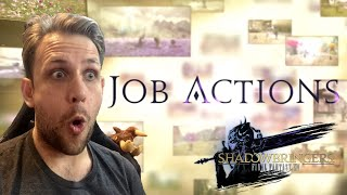 Kiwi REACTS - Shadowbringers Job Actions   Final Fantasy XIV