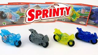 Kinder Surprise Toys High-Starter Motorcycle Sprinty Series for boys 2014-2015 SurpriseEggsSHOW
