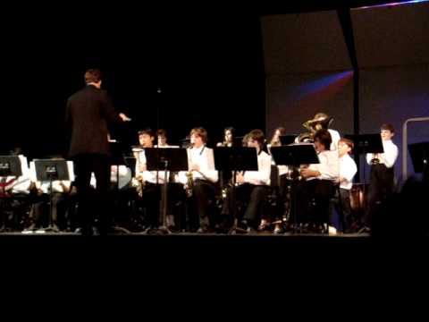 Henry James Memorial School Jazz Band3-12/10/09