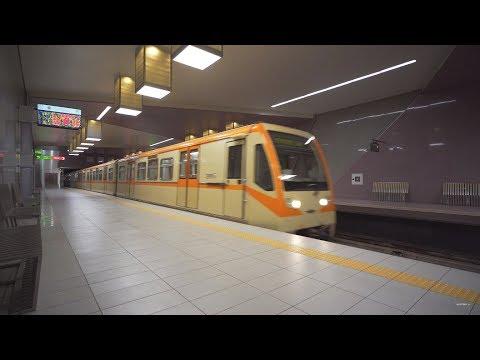 Bulgaria, Sofia, Metro ride from Искърско шосе to Софийска света гора