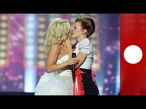Lesbian kiss makes final Eurovision 2013 selection