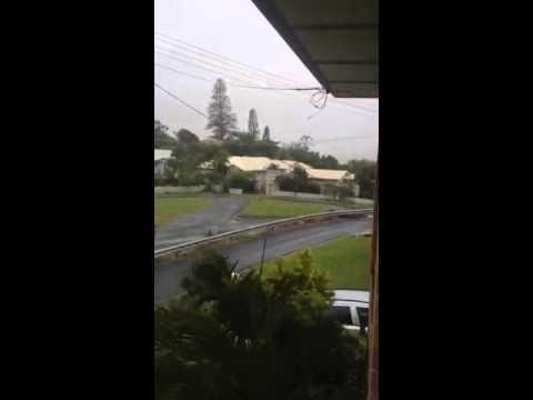 Tropical Cyclone Marcia hits Queensland