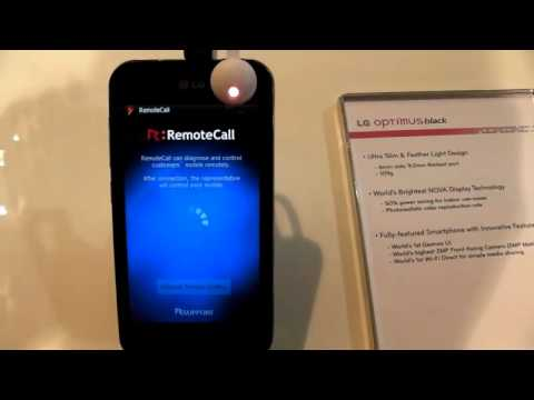 LG Optimus Pre-Loaded with RemoteCall Mobile