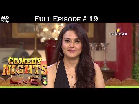 Comedy Nights Live - 19th June 2016 - Preity Zinta - कॉमेडी नाइट्स लाइव - Full Episode