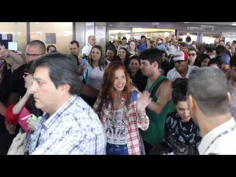 Violetta en Vivo: La llegada a Brasil