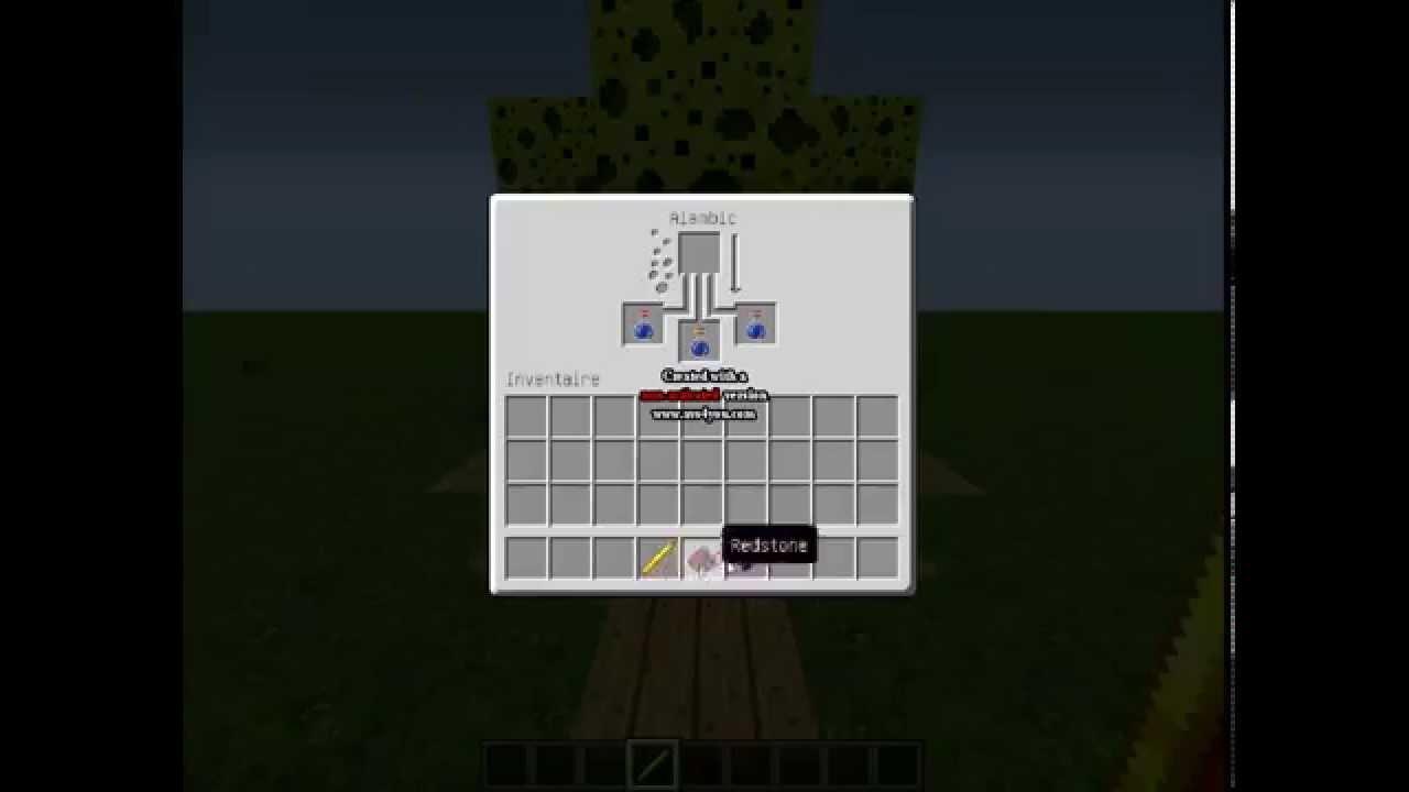 tuto comment faire une potion de force minecraft youtube. Black Bedroom Furniture Sets. Home Design Ideas