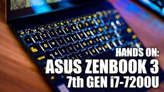 Hands On: ASUS ZenBook 3 UX390UA 7th Gen Laptop