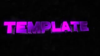 Free epic purple intro tempalte // Blender Only //Tutorial + Download