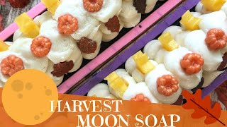 Making of Full Harvest Moon Cold Process Soap | 🍁 GYPSYFAE CREATIONS