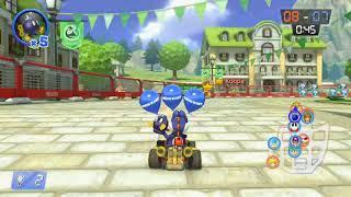Mario Kart 8 Deluxe Part 129 - Bob-omb-Wurf - 3DS Wuhu-Stadt