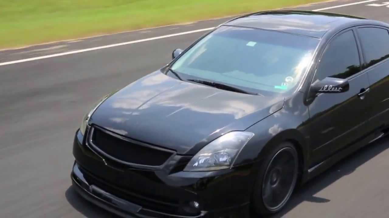 Static Nissan Altima On Avant Garde Hd Youtube