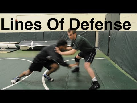Lines Of Takedown Defense: Basic Wrestling Techniques and Moves For Beginners Image 1