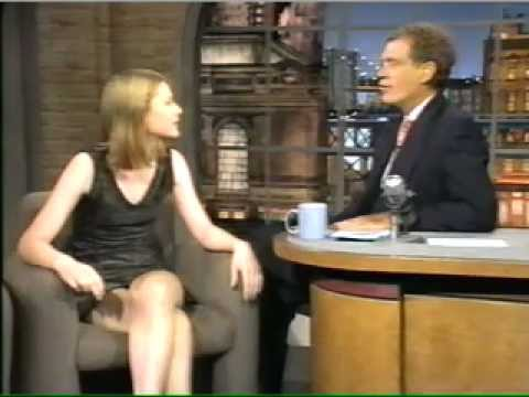 Claire Danes first appearance on Letterman