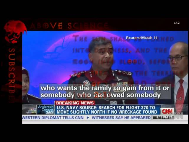 Missing Malaysia Airlines Flight 370 UFO Abduction & Other Theories