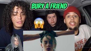 Billie Eilish - bury a friend (VIDEO) REACTION REVIEW