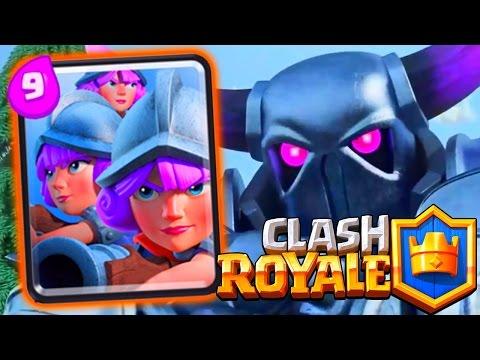 Clash Royale - Pekka 3 Muskies