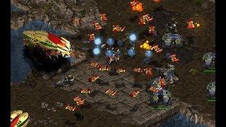 Hiya (T) v Shuttle (P) on Fighting Spirit - StarCraft  - Brood War REMASTERED