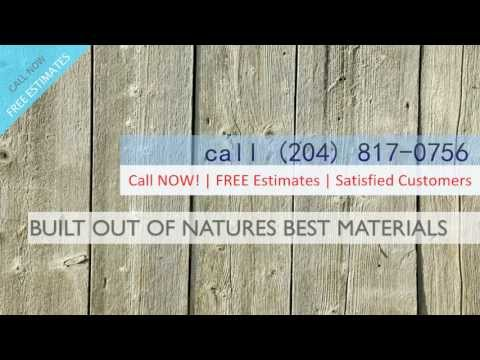 Wood Fences, Winnipeg MB call (204) 817-0756
