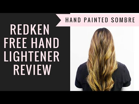 REDKEN FREE HAND LIGHTENER REVIEW (SOMBRE TUTORIAL)