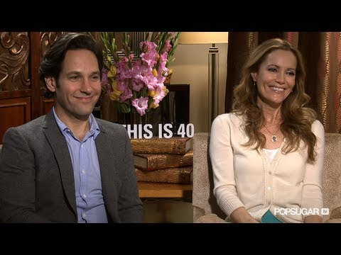 Paul Rudd and Leslie Mann on Their This is 40 Stoner Scene