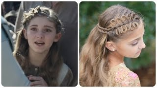 How to get Prim's Bow Braid Tieback | Catching Fire | Hunger Games Hairstyles