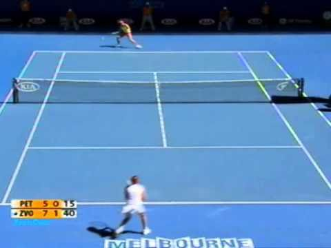 Vera Zvonareva vs Nadia Petrova 2009 AO Highlights