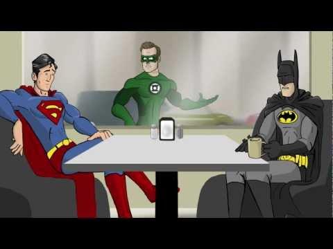 СуперКафе - Твиттер Супергероев! (Таблетка Team)