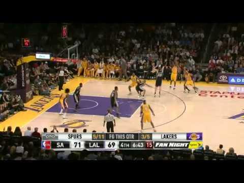 San Antonio Spurs vs Los Angeles Lakers 11/13/12