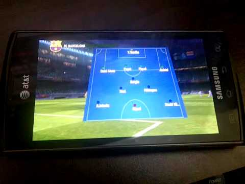 Fifa 12 Android Samsung Captivate