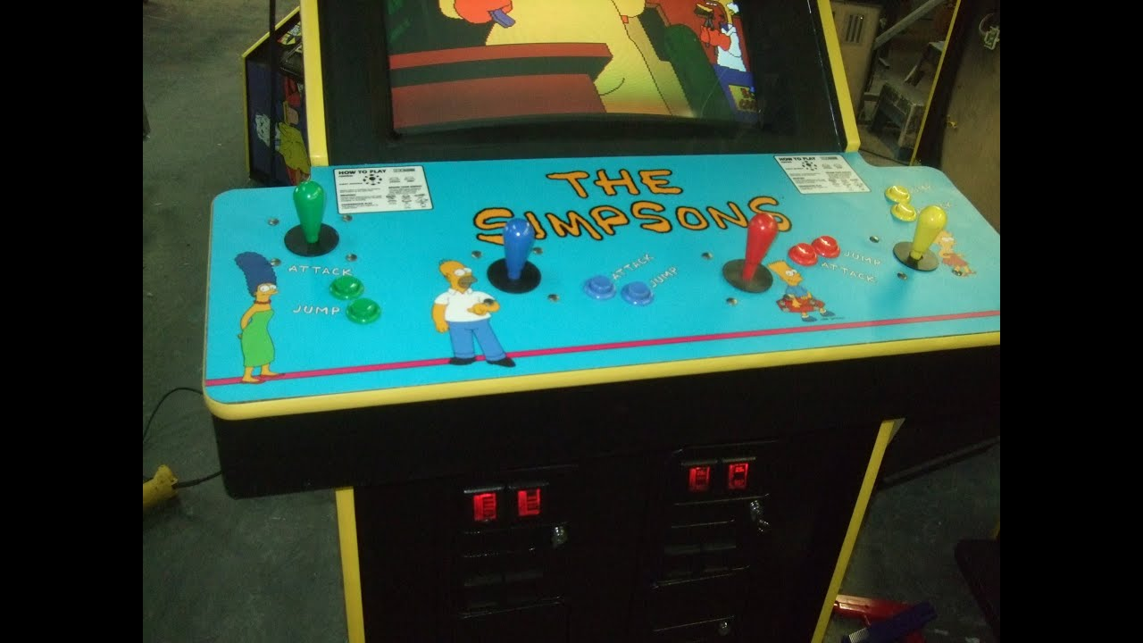 Konami The Simpsons Arcade