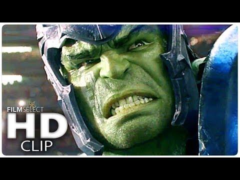 THOR RAGNAROK: Hulk vs Thor Clip (2017)