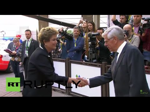 Belgium: Heads of states and governments arrive in Brussels for EU-CELAC summit