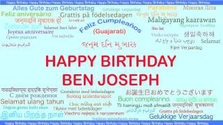 Ben Joseph   Languages Idiomas - Happy Birthday